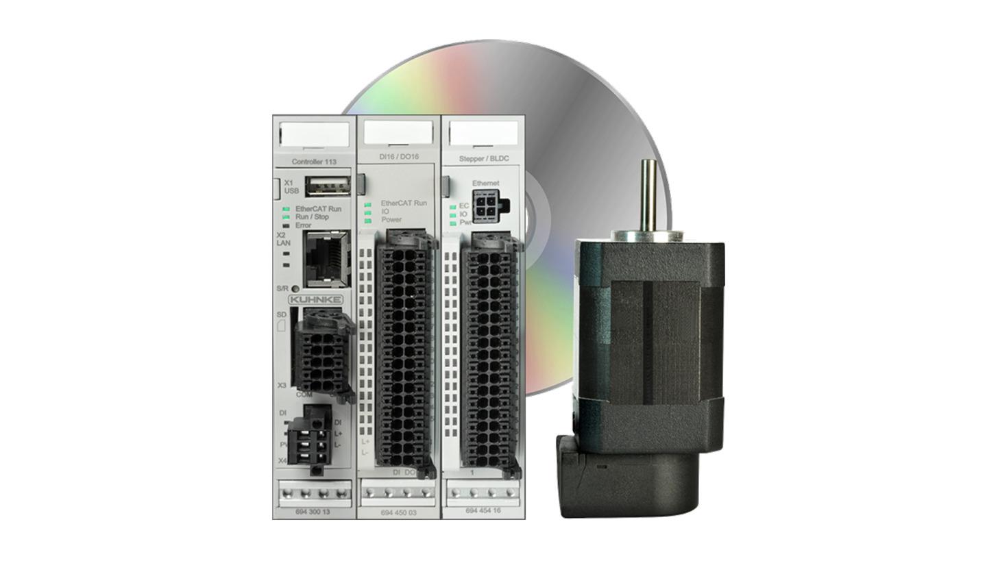 Logo Modular PLC with stepper controller