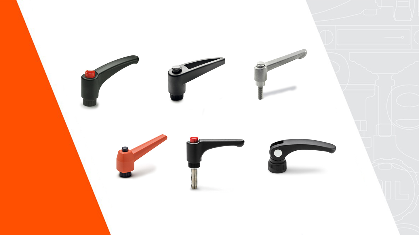 Logo Clamping Levers