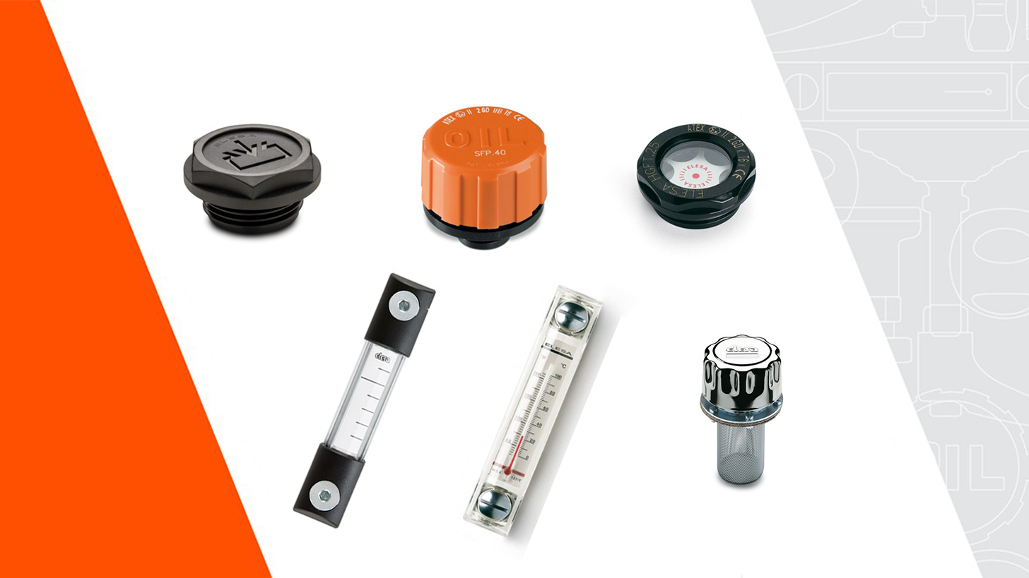 Logo Accessories for Hydraulic Systems