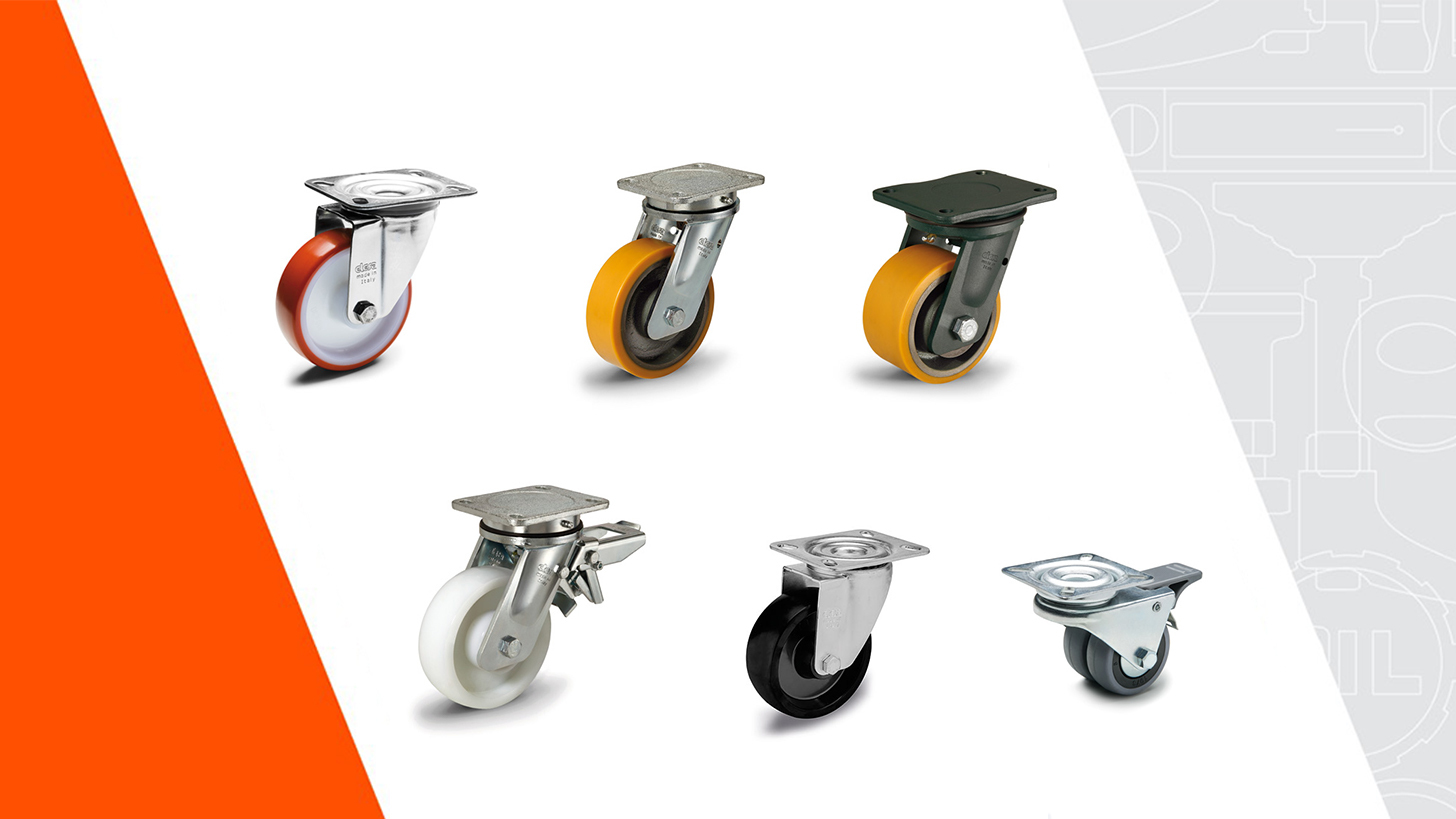 Logo Castors and wheels
