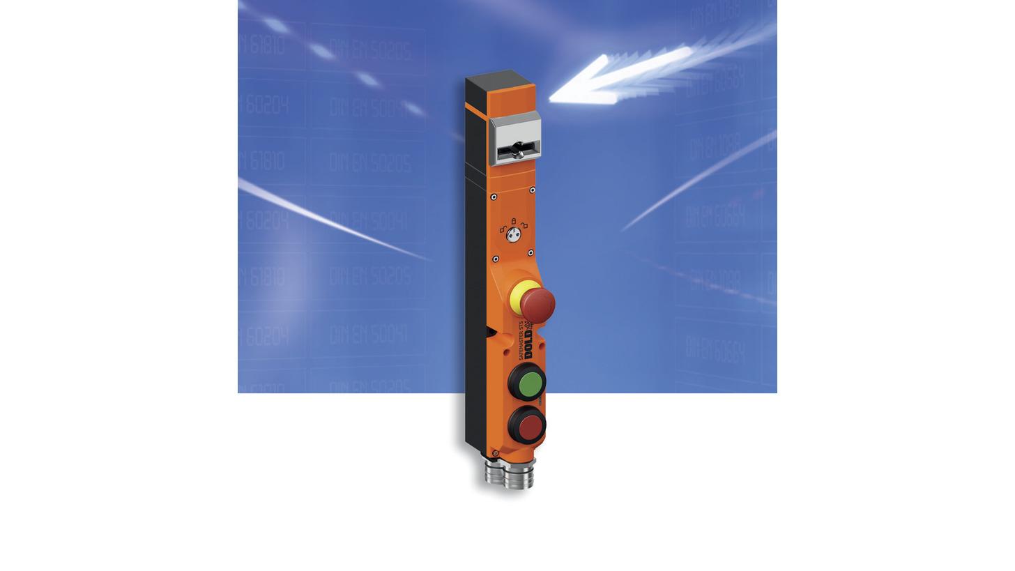 Logo Sicherheitsschalter mit Zuhaltung