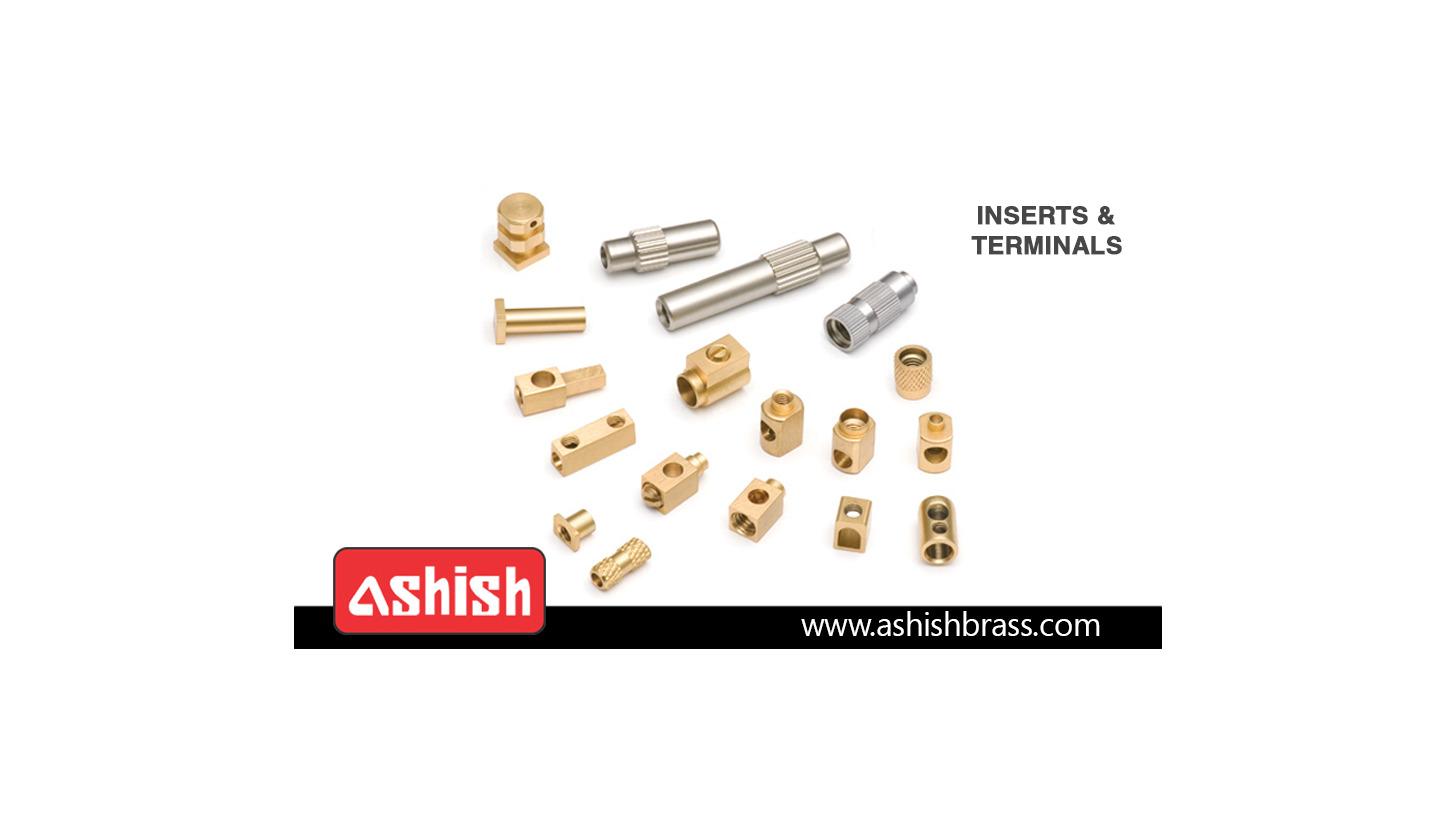 Logo Brass Inserts