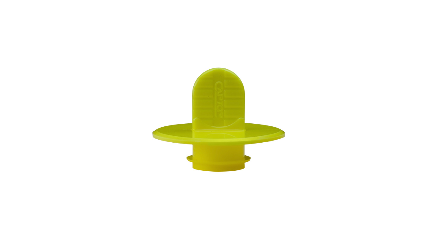 Logo EP 360 Snap-Fit Grip Plugs with large flange