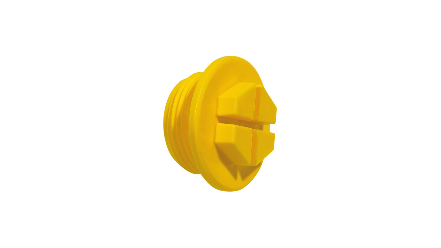 Logo EP 436 Threaded Sealing Plugs with drain head design