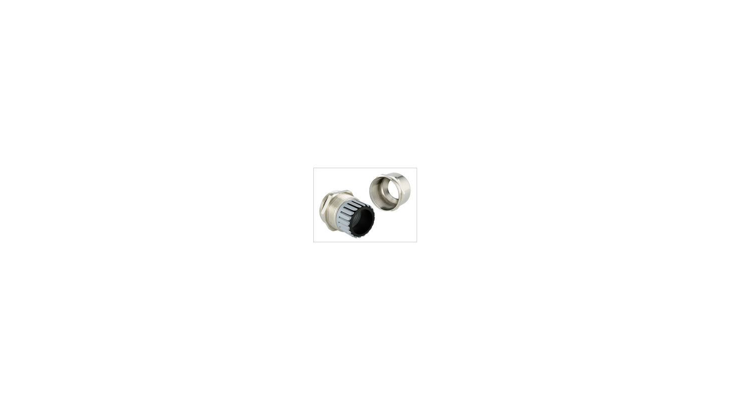 Logo EPN 700 Brass Cable Glands with Domed Head and Parallel Shank