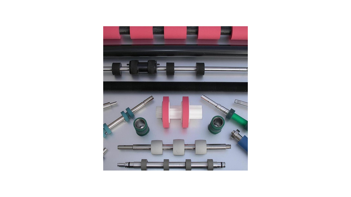 Logo rubber rollers