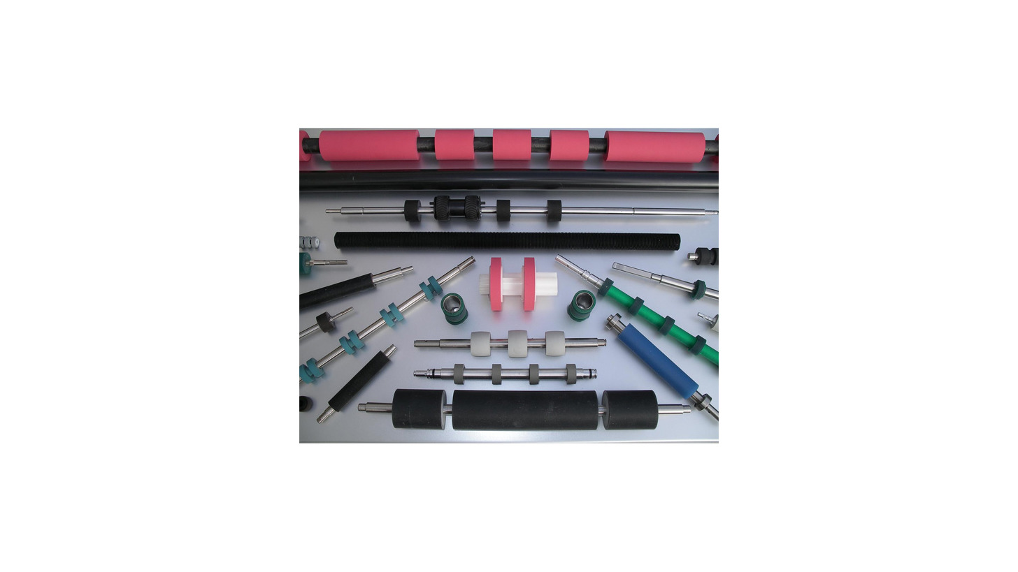 Logo Mail sorting rollers