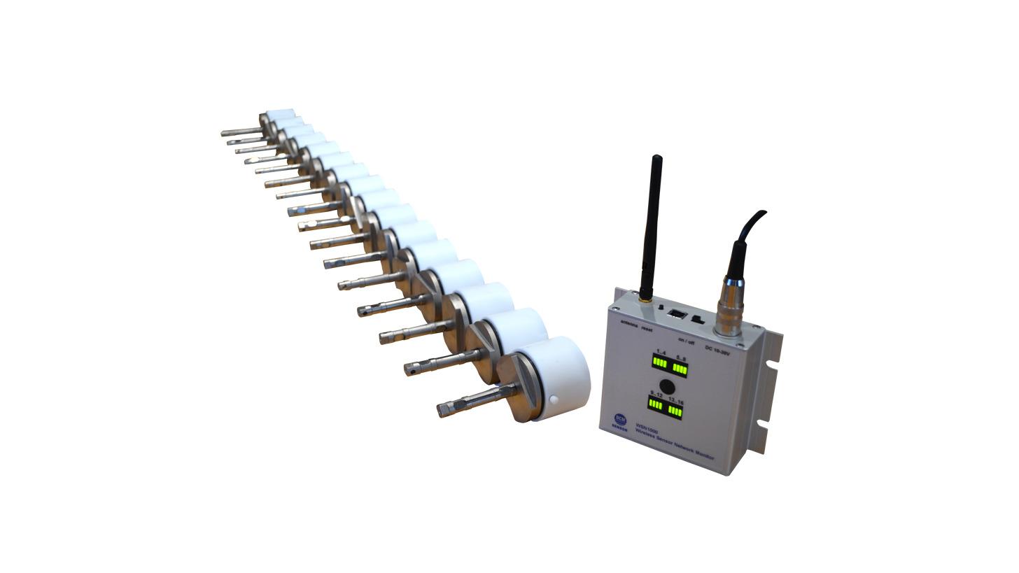 Logo Drahtloses Sensornetzwerksystem