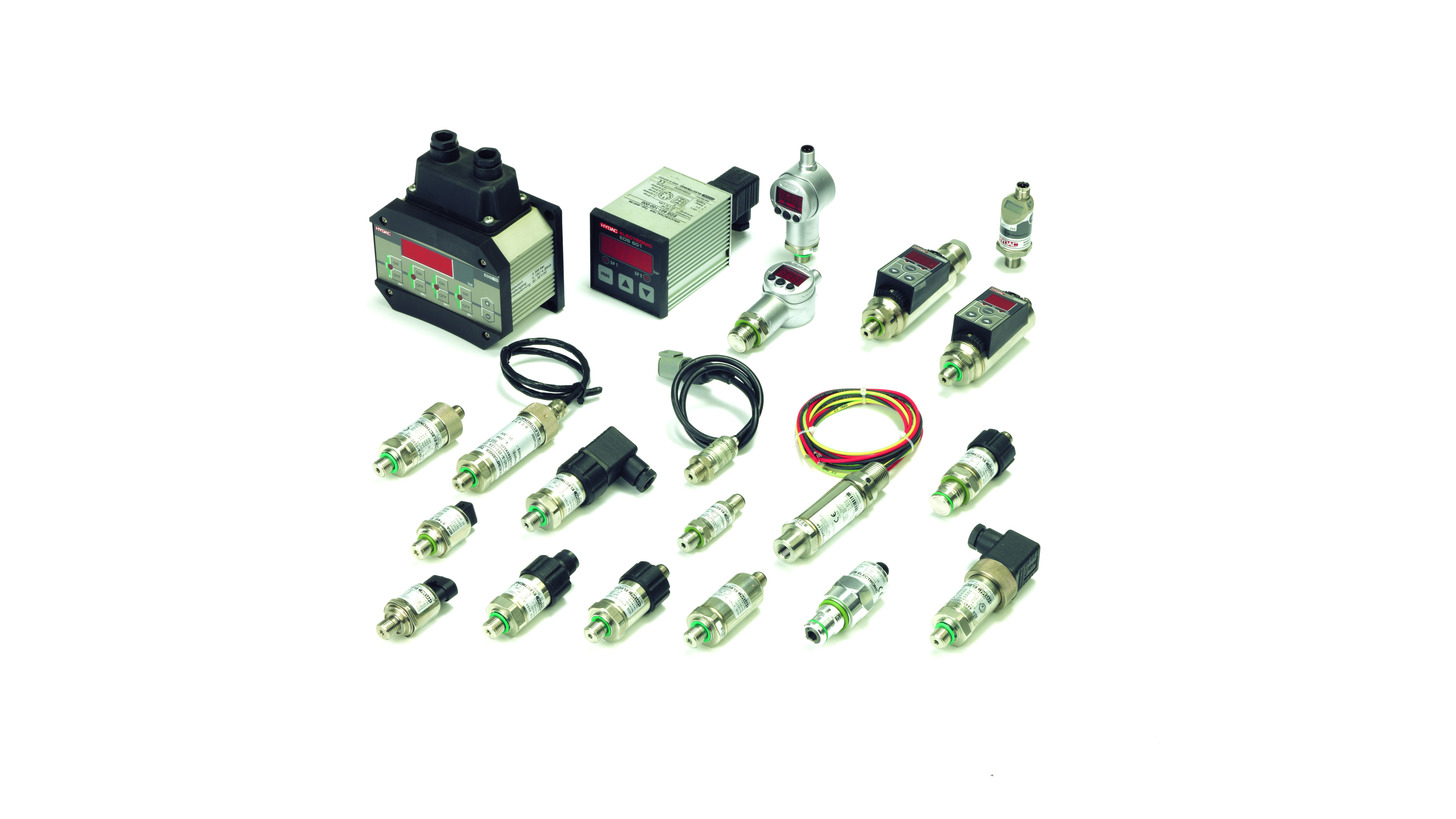 Logo Electronic Pressure Transmitters and Switches