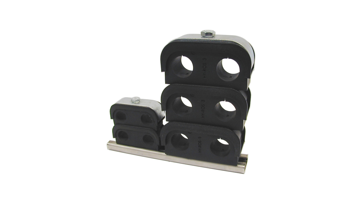Logo Buegu Clamp with stacking option