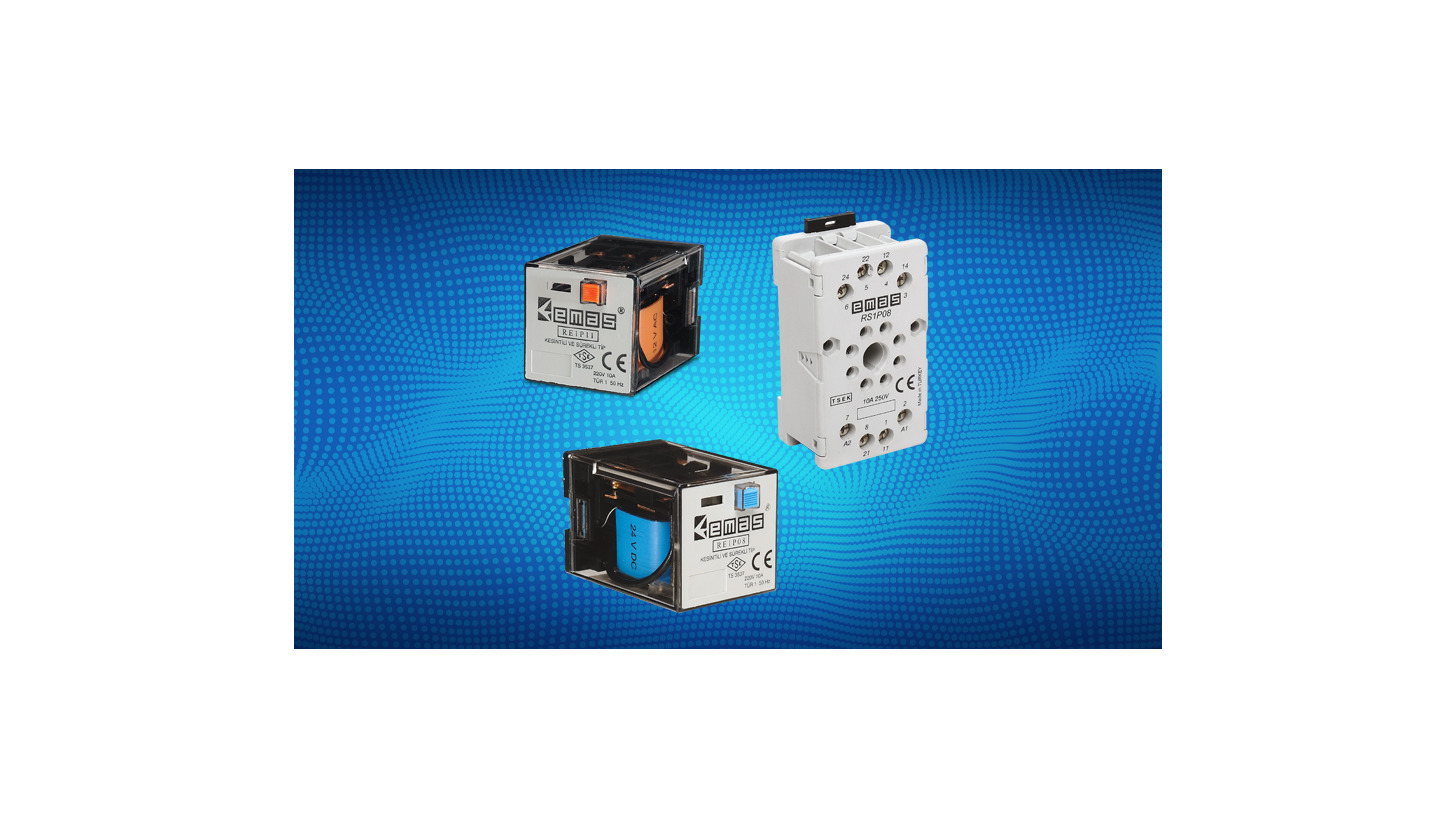 Industrial Relays And Sockets Product Hannover Messe 2018 Replacement Parts Lift Circuit Breakers Time Delay Breaker Logo
