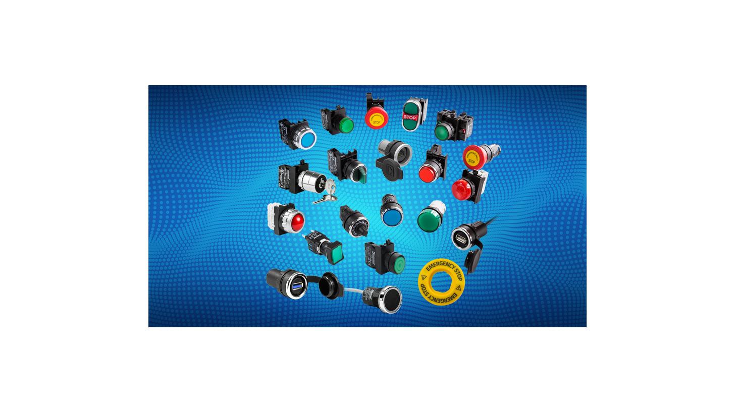 Logo CONTROL UNITS AND PILOT LAMPS