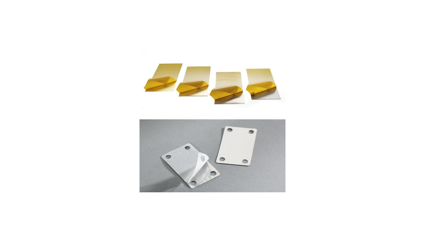 Logo M-Tech® Selfadhesive metal foils and selfadhesive metal parts