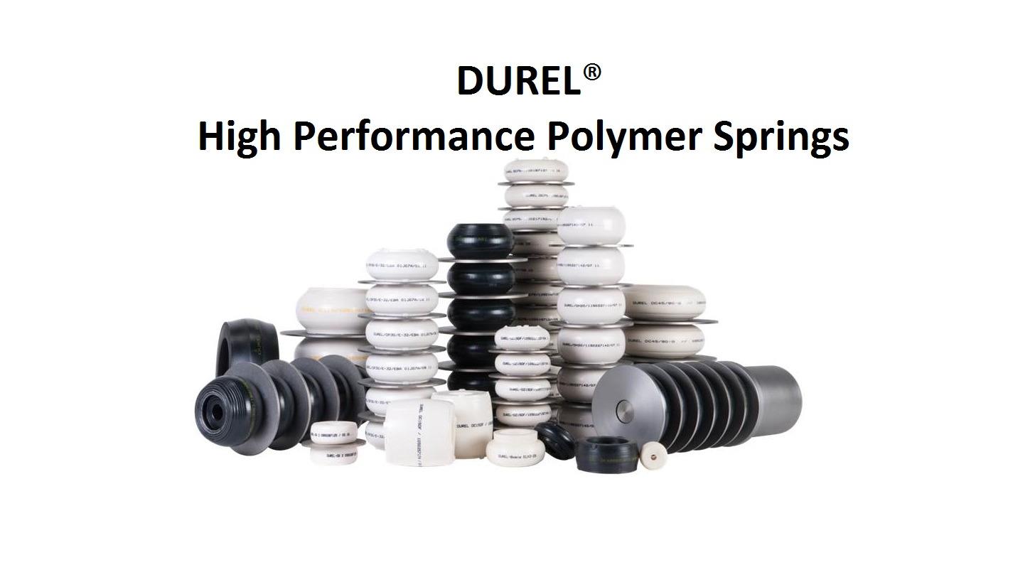 Logo DUREL Polymerfedersysteme