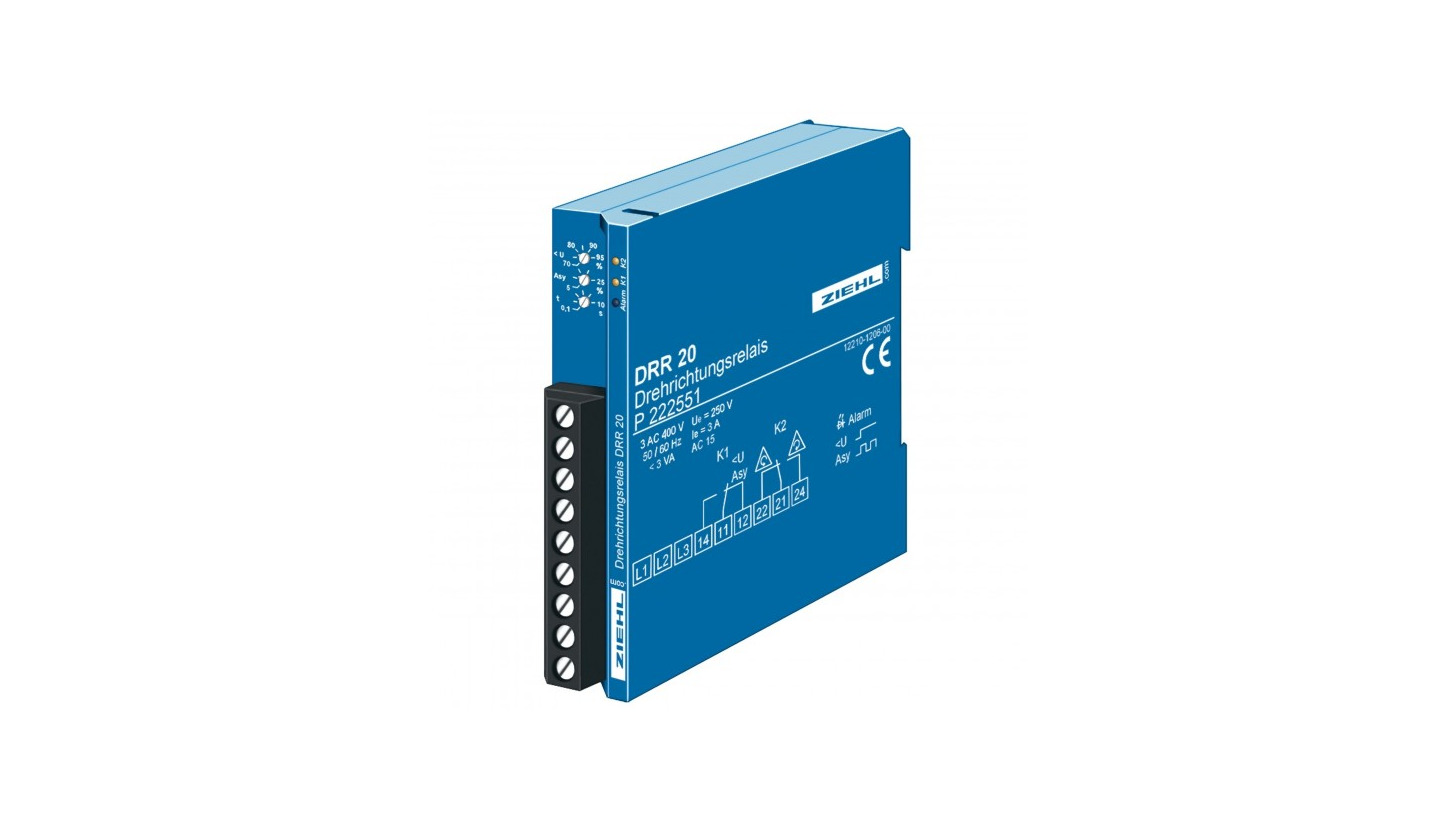 Logo Phase-monitoring Relays PS and DRR