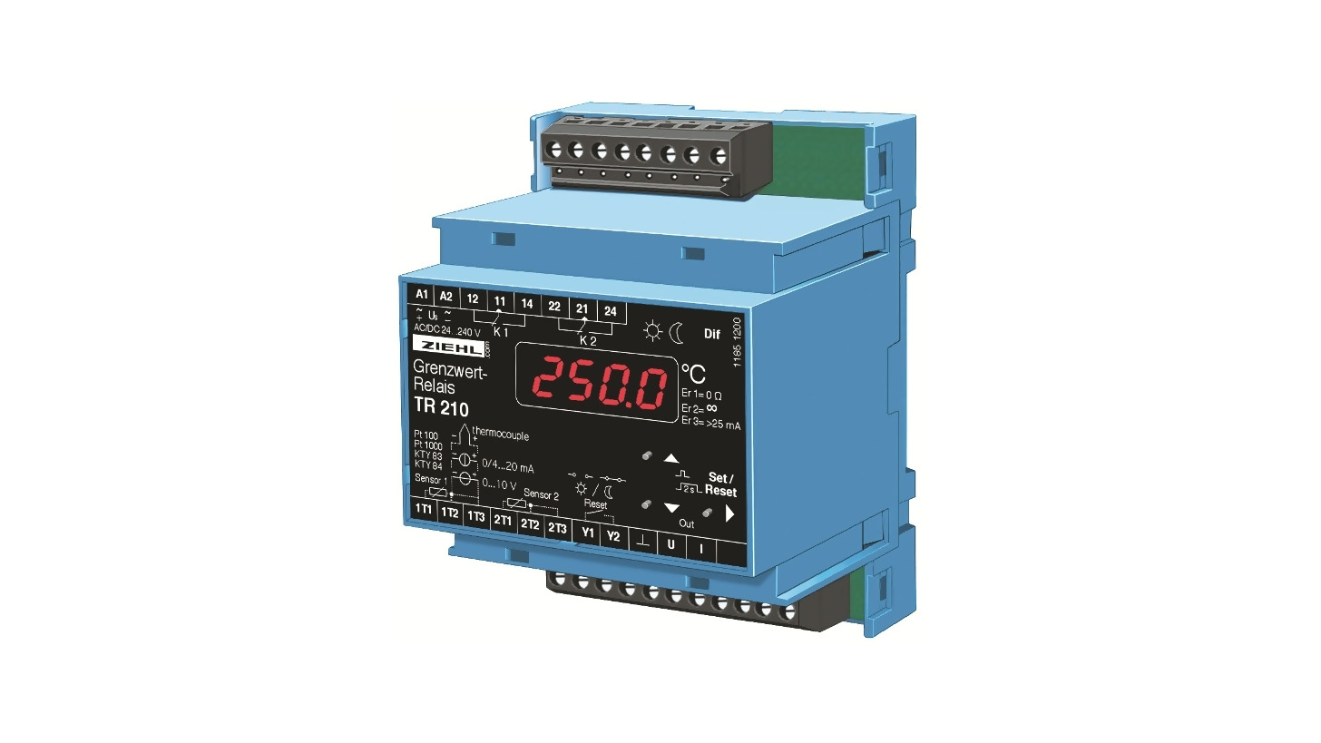 Logo Temperature Relays for Pt 100 (RTD) TR