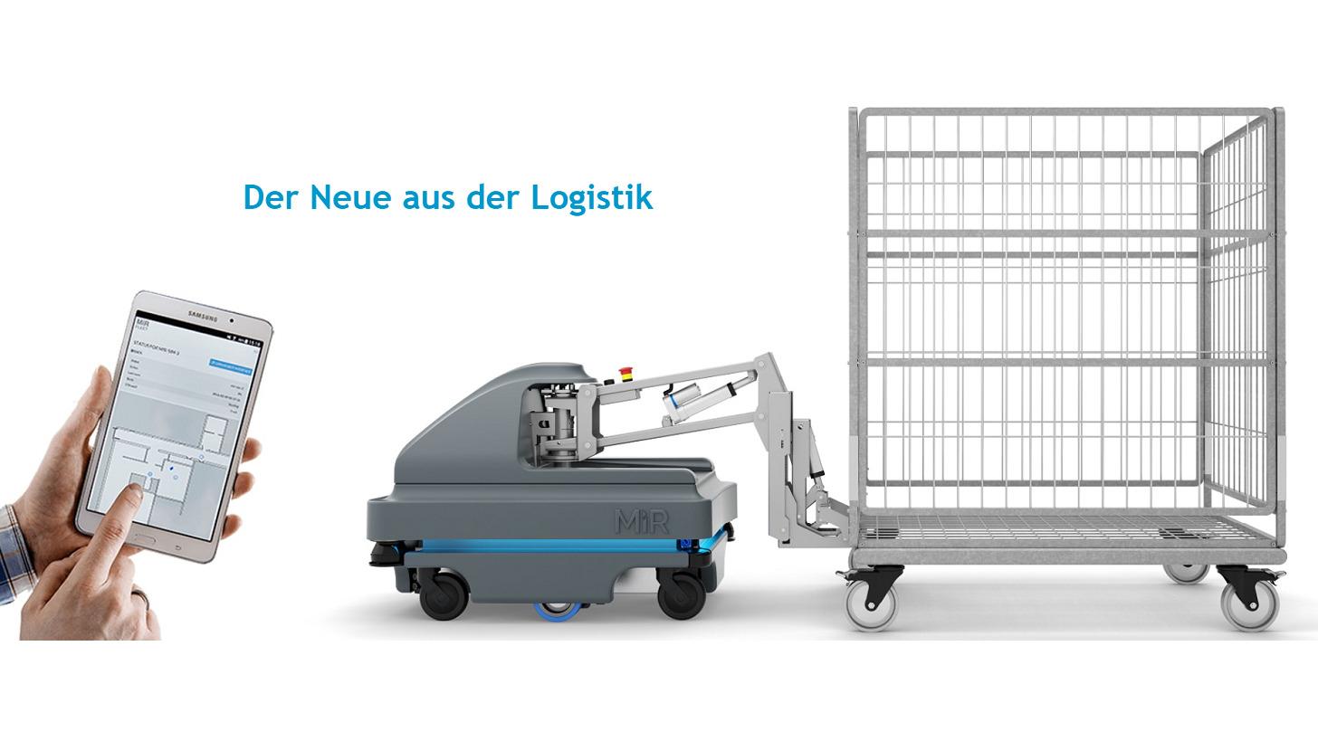 Logo MiR Driverless Transport Systems