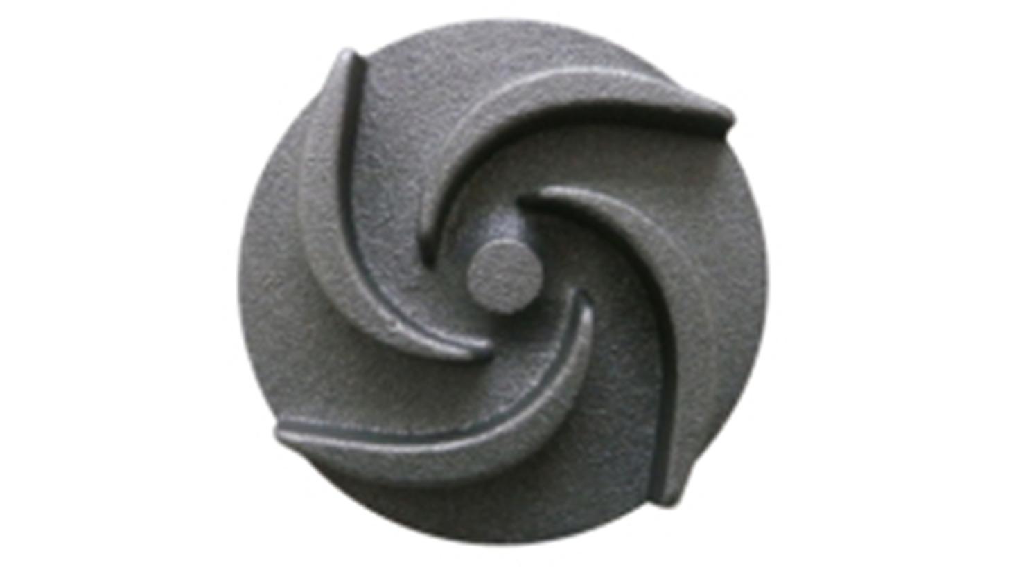 Logo water pump impeller
