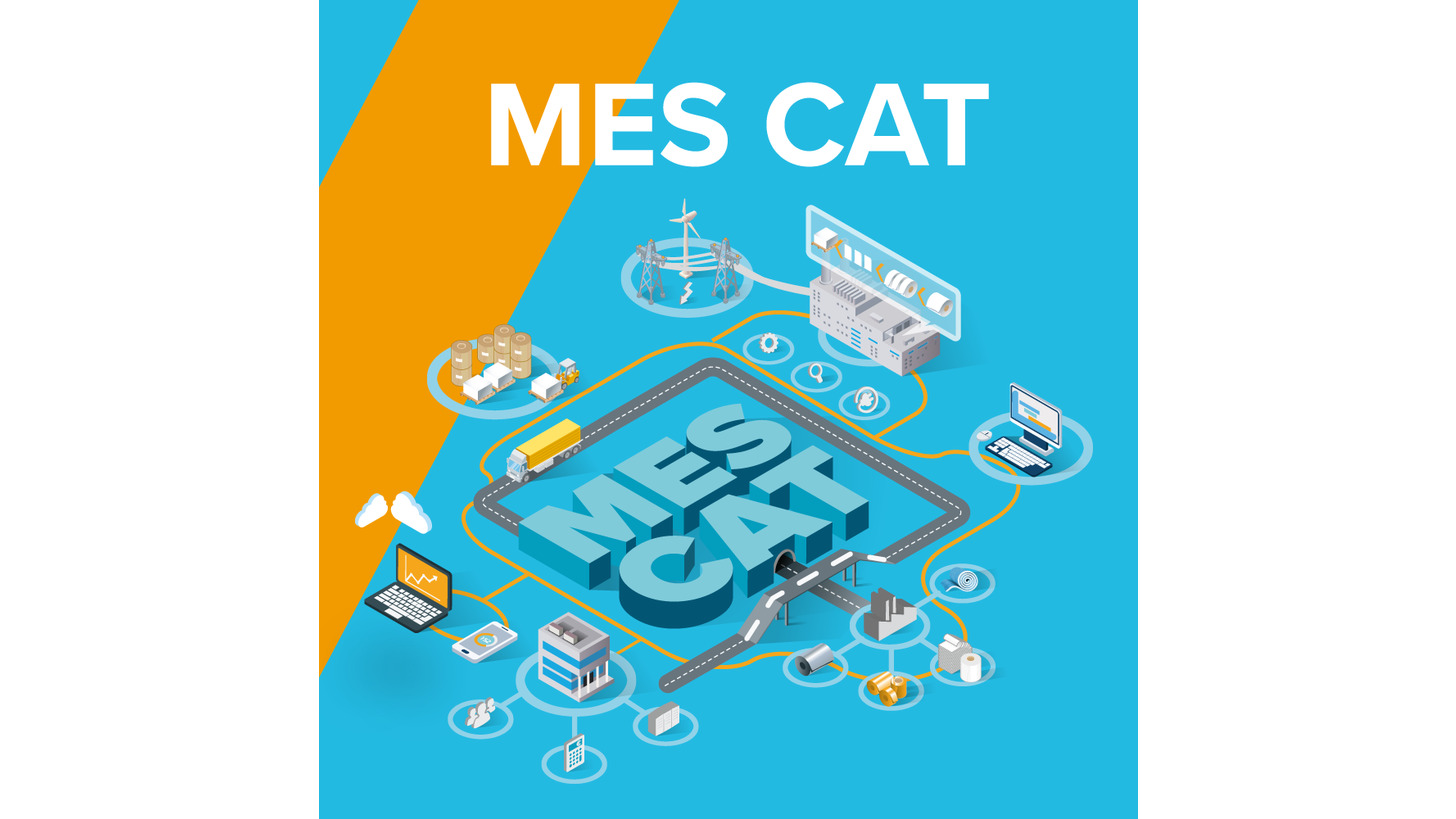 Logo MES CAT - in SAP ERP integrated MES
