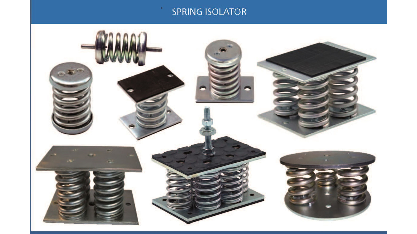 Logo Spring Isolators