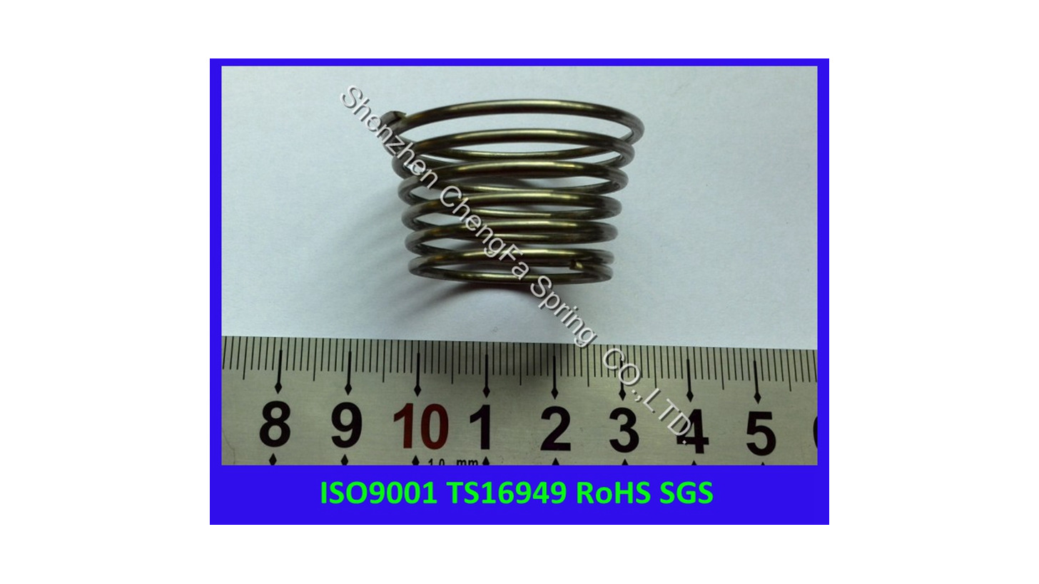 Logo oval compression spring