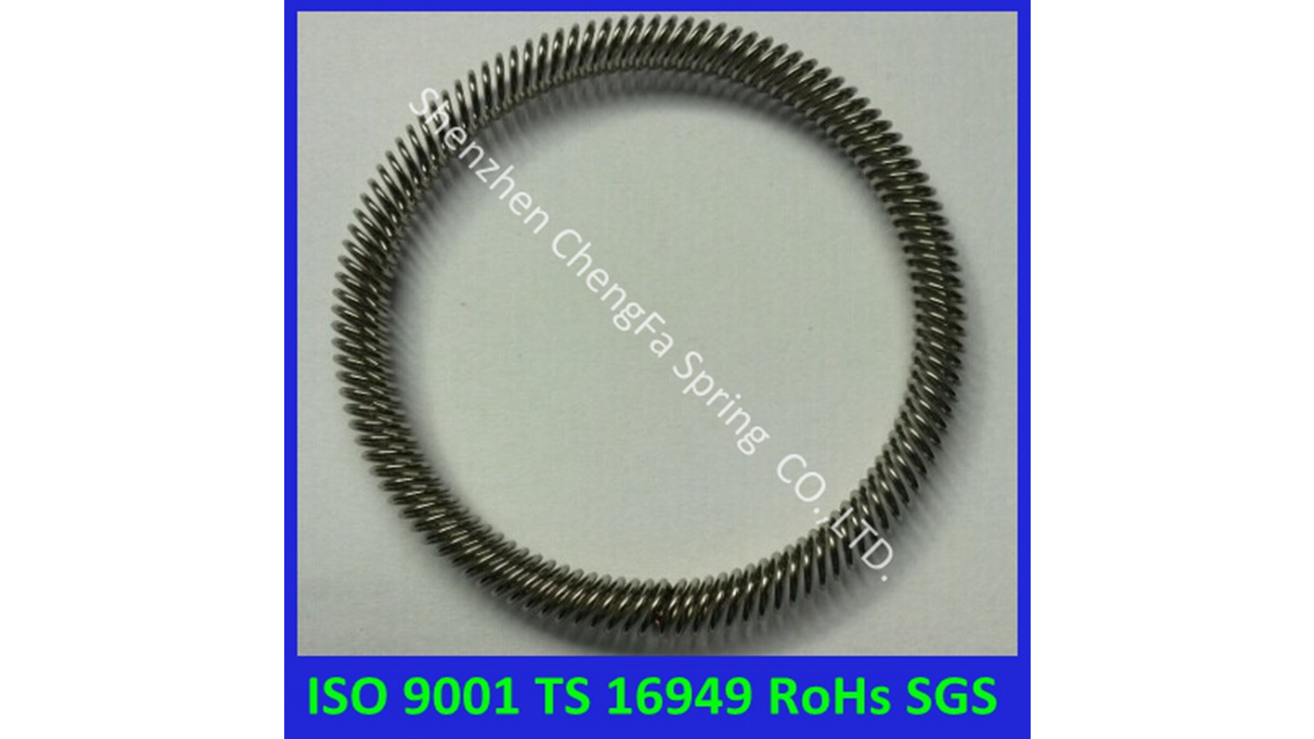 Logo stainless steel canted coil Spring