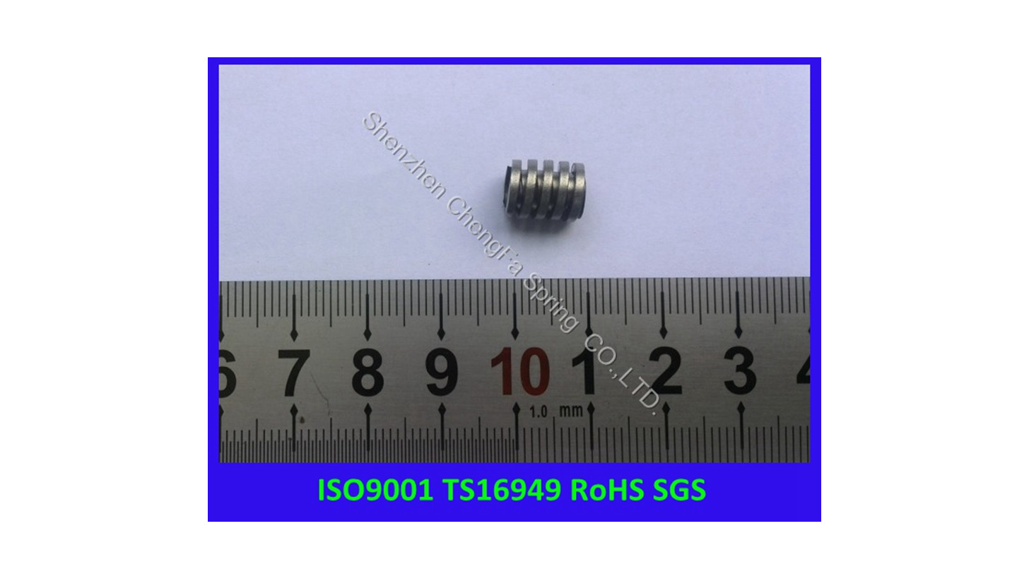 Logo multi-layer flat compression spring