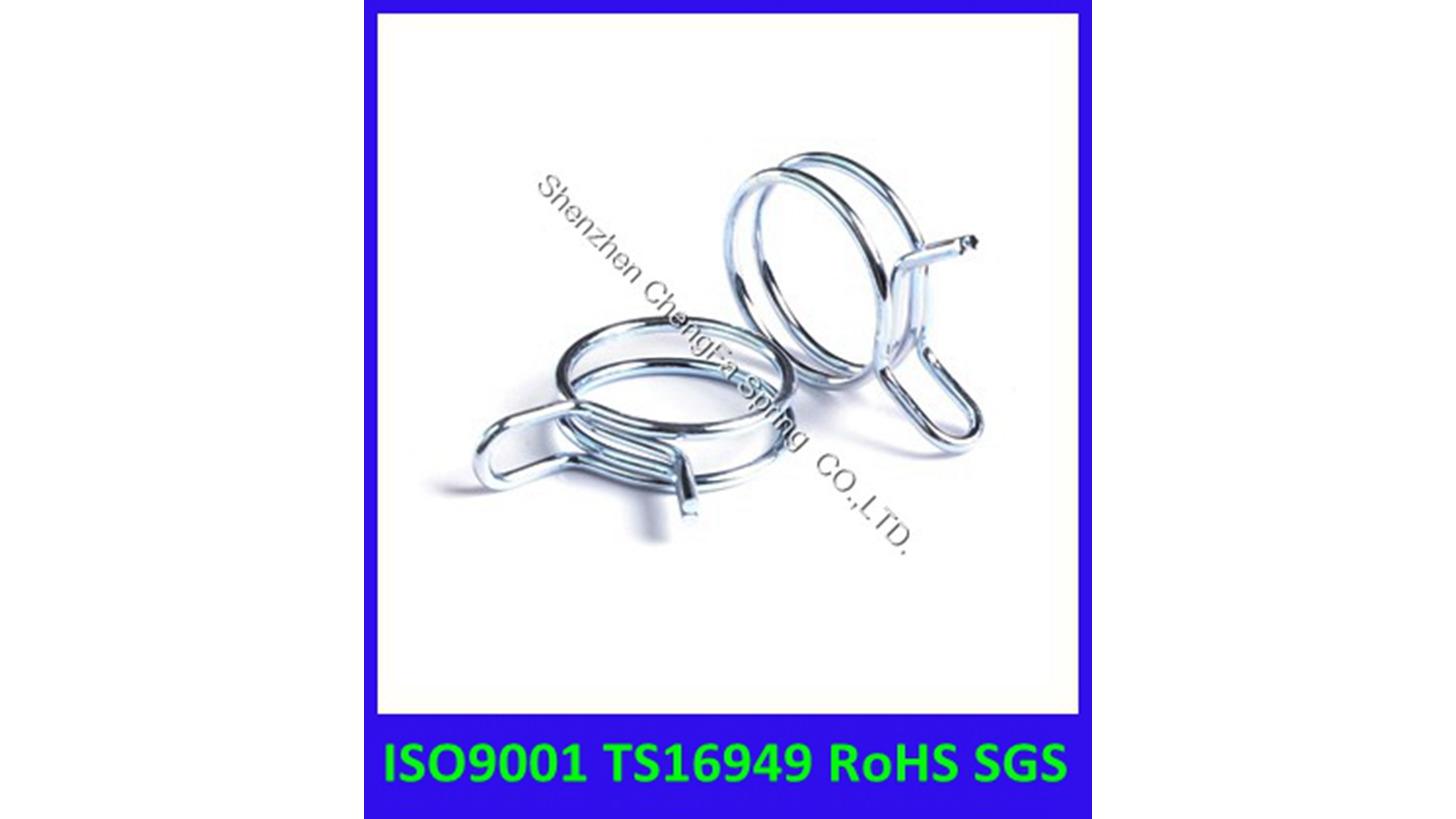 Logo high quality steel hose clip