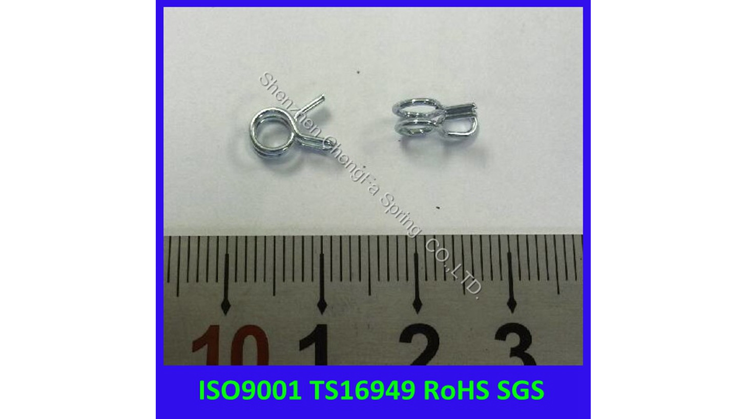 Logo stainless steel hose clip