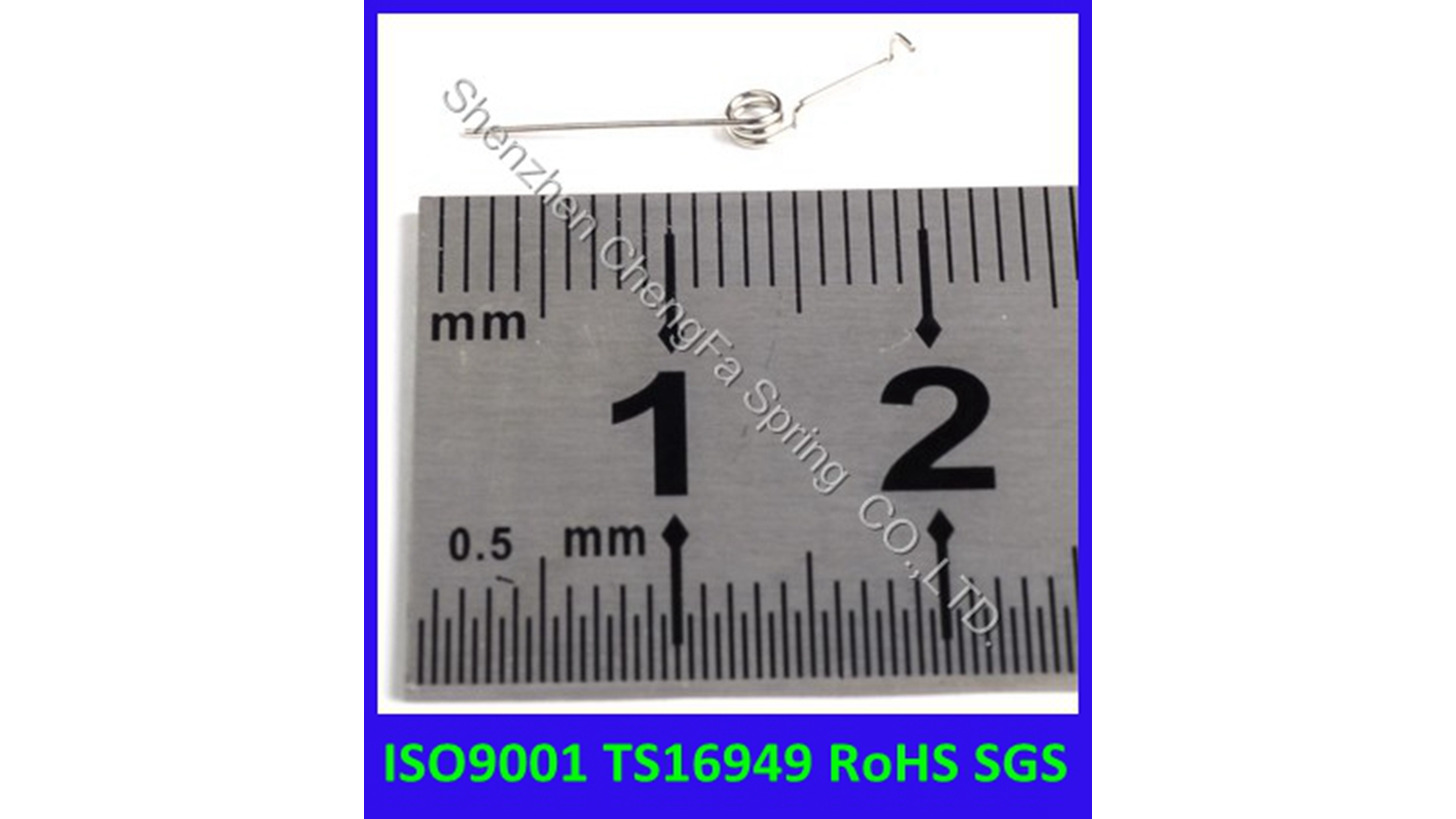 Logo custom small torsion spring
