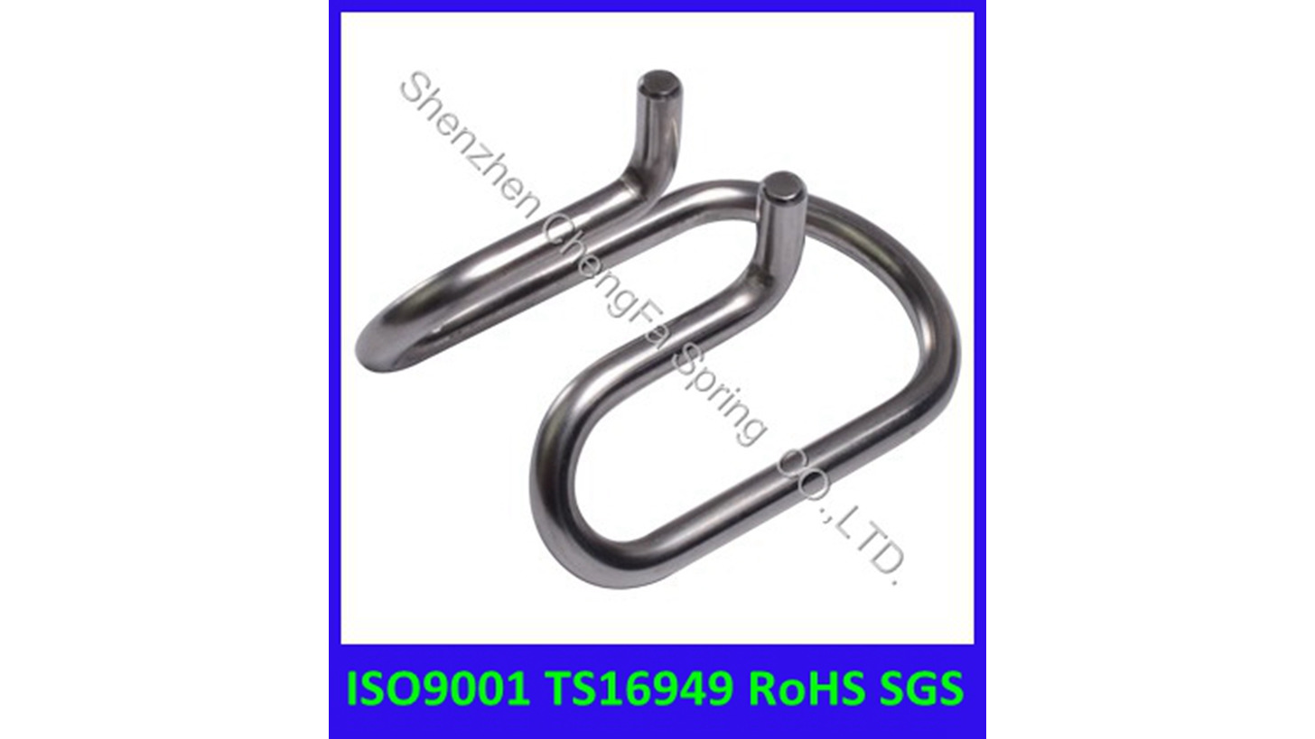 Logo metal wire forming spring