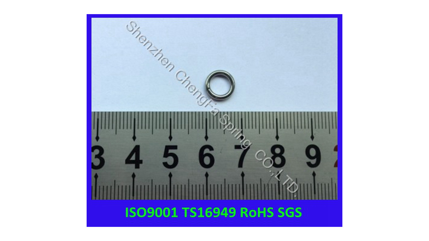 Logo spring o ring with welding