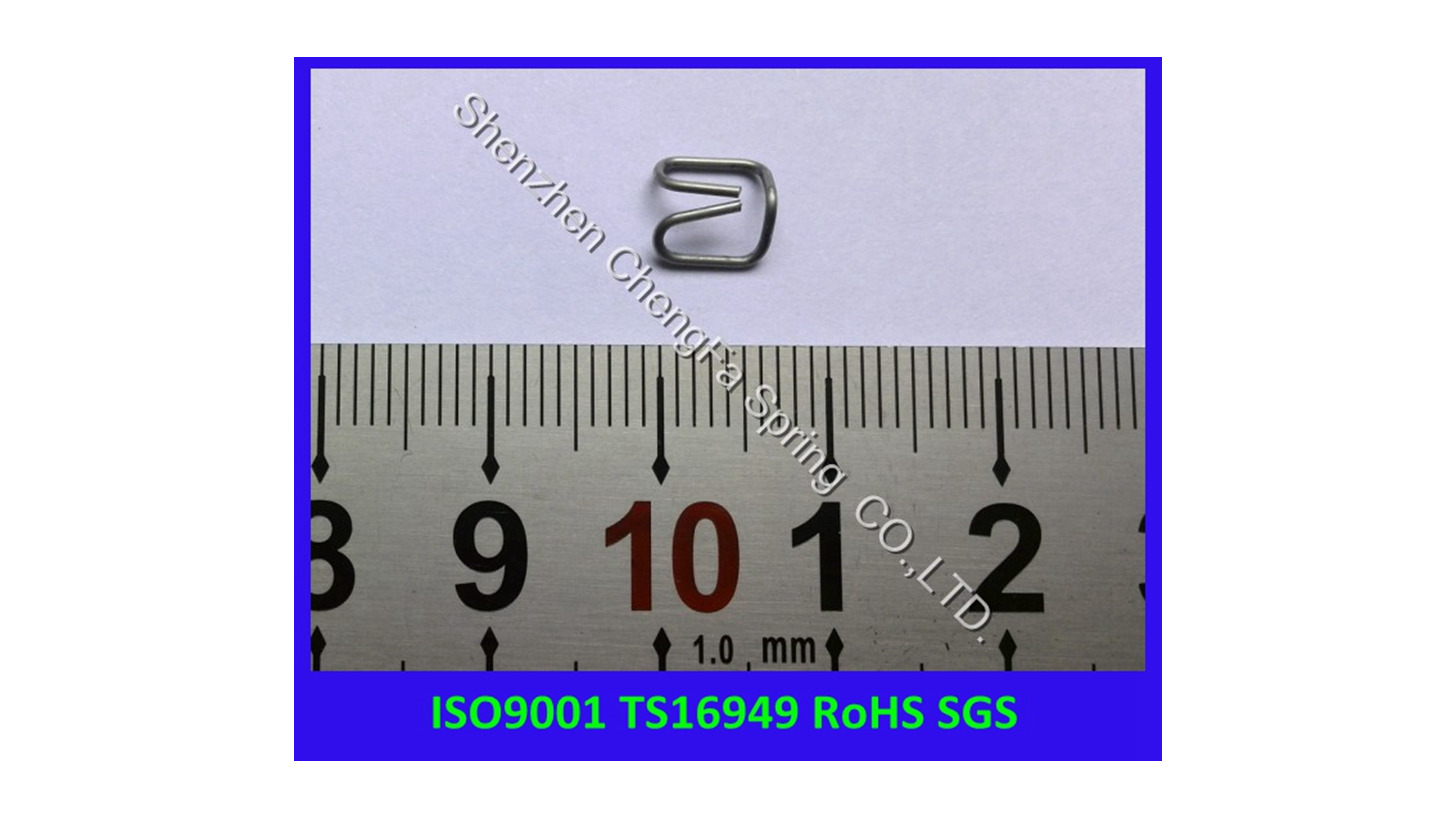 Logo stainless steel wire clamp