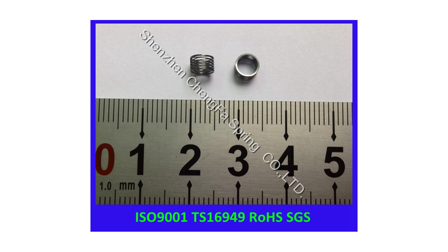 Logo Stainless Steel 631 small wave spring