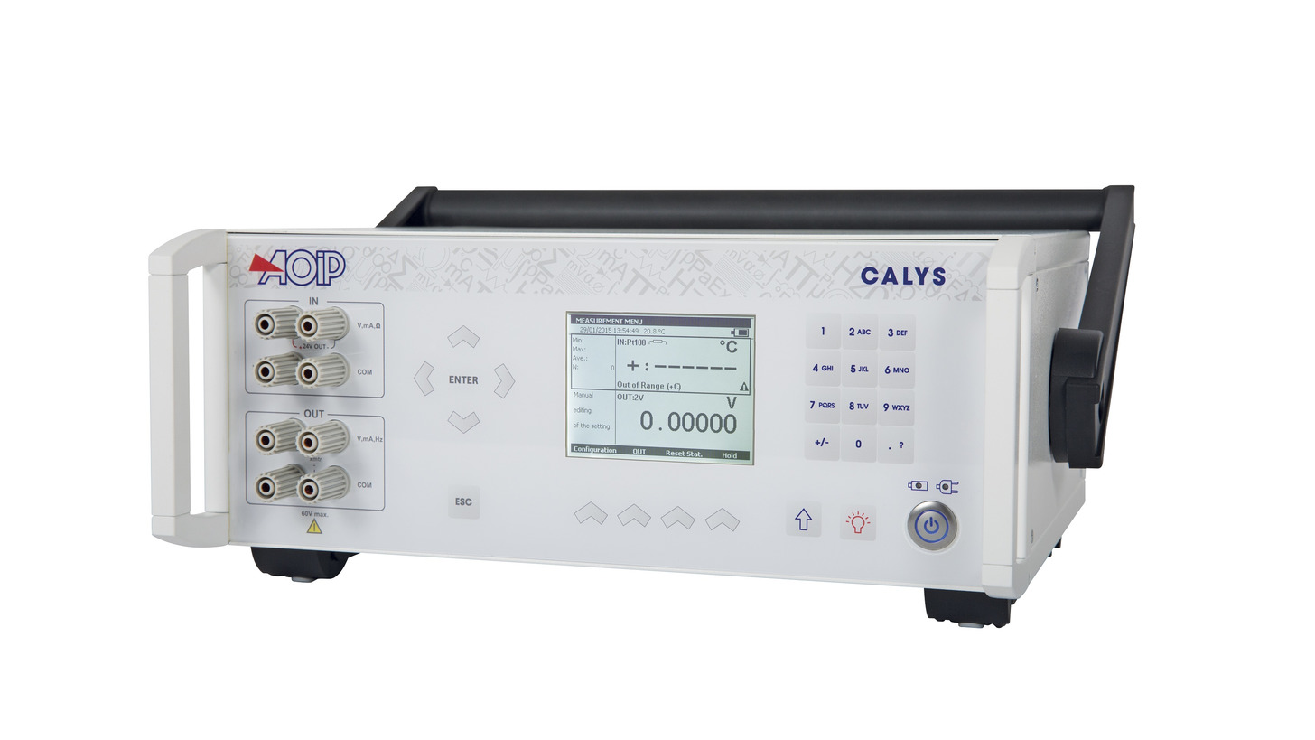Logo CALYS Tischmultifunktionkalibratoren