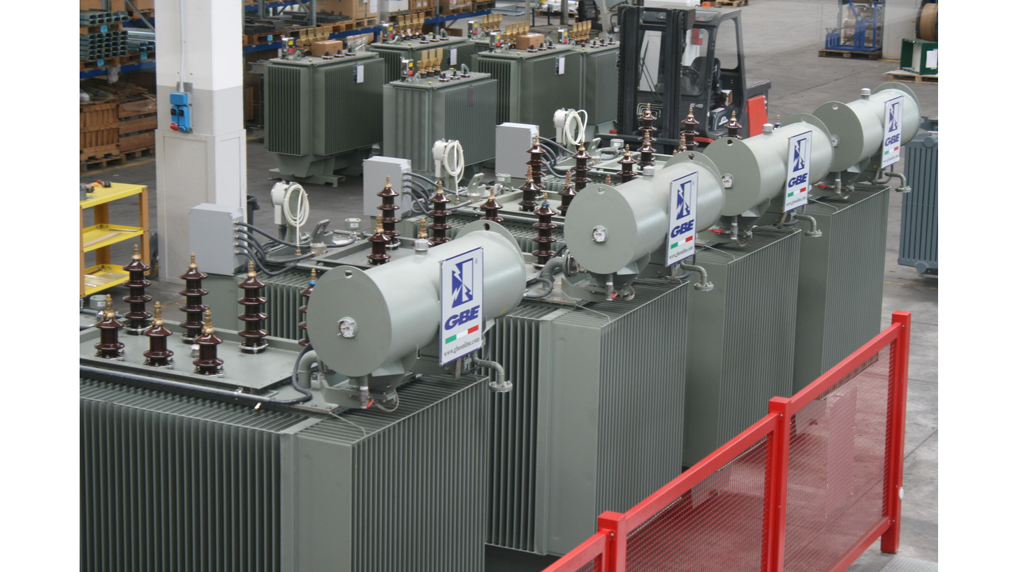 Logo Oil filled transformers