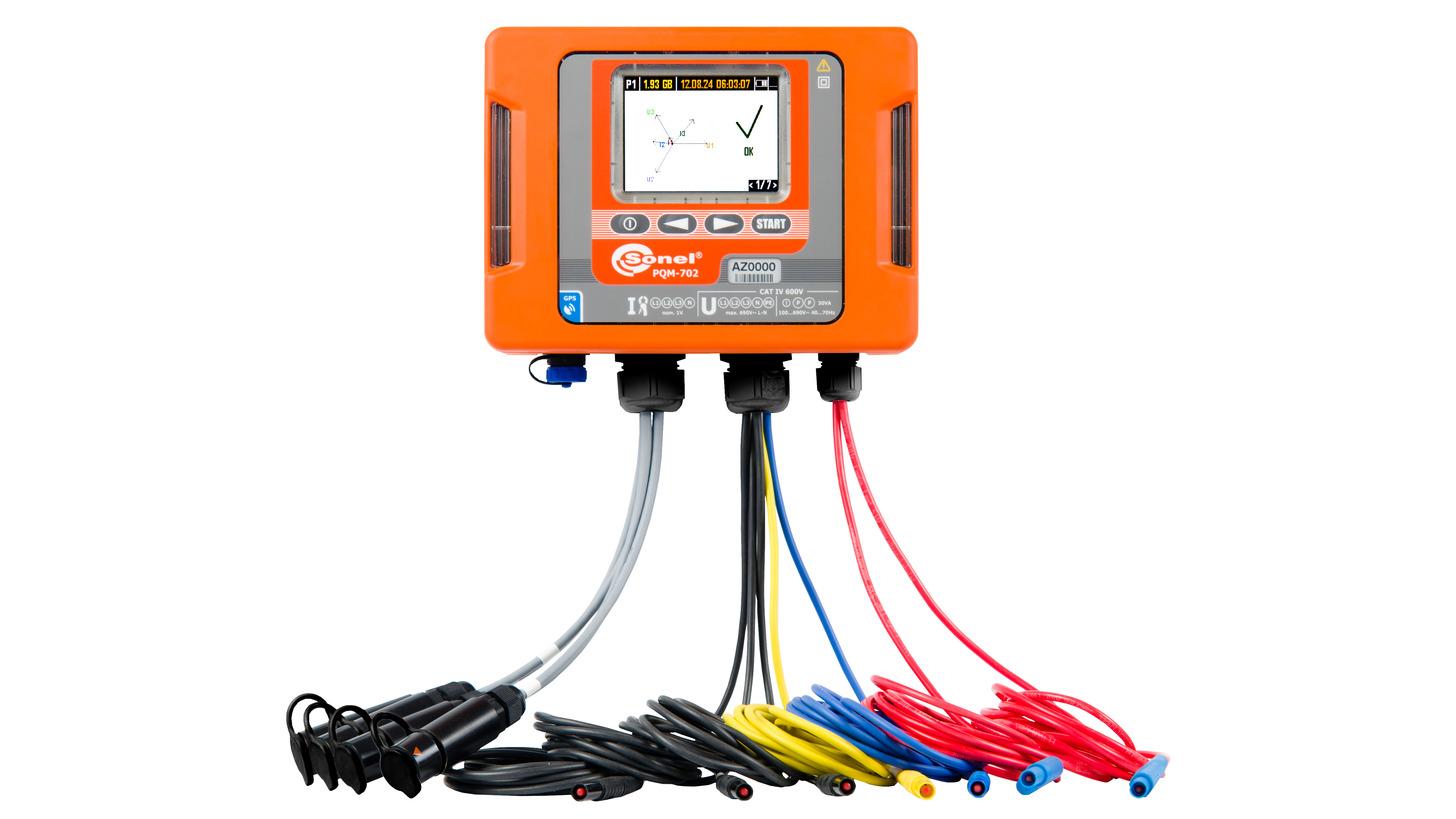 Logo PQM-702 Power quality analyzer