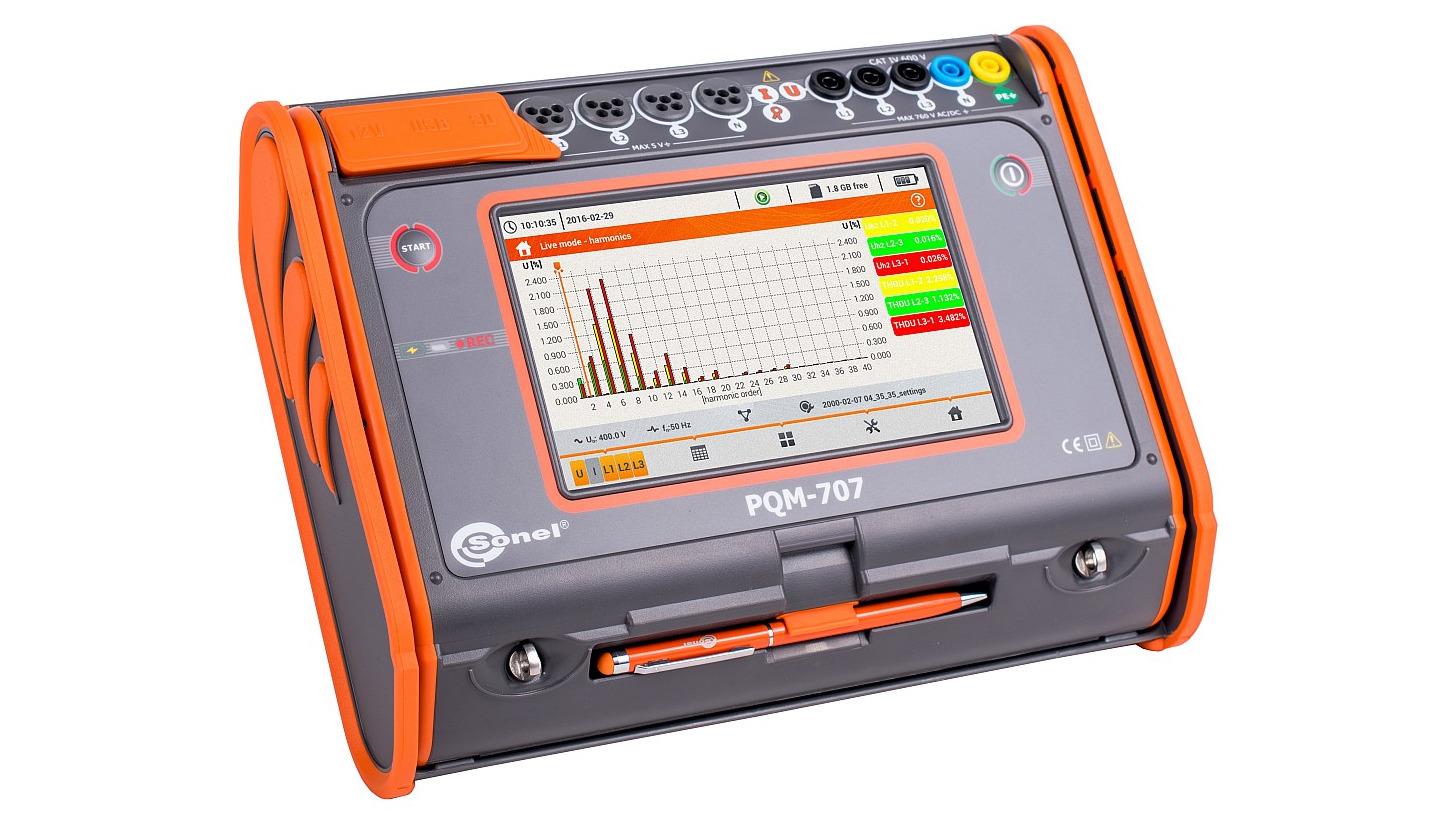 Logo Power quality analyzer PQM-707