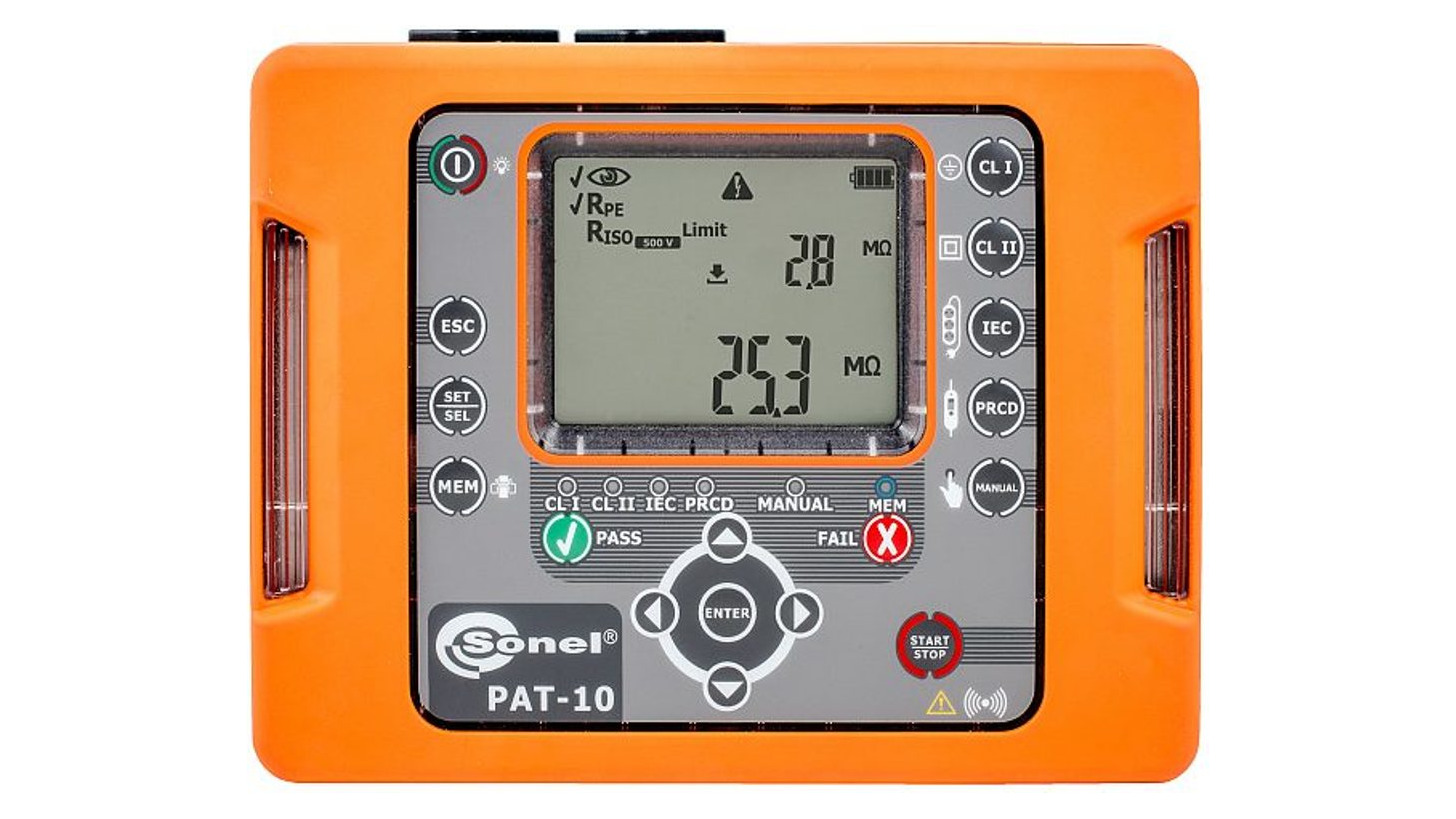 Logo Portable appliance tester PAT-10