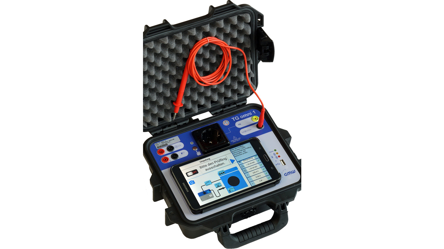 Logo Safety Appliance Tester - TG omni 1