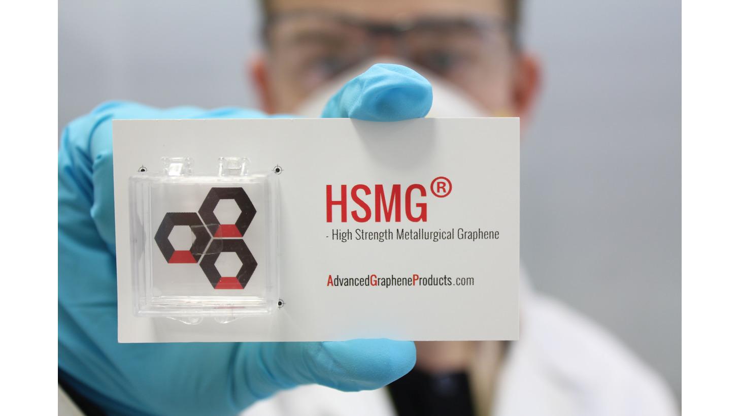 Logo High Strength Metallurgical Graphene
