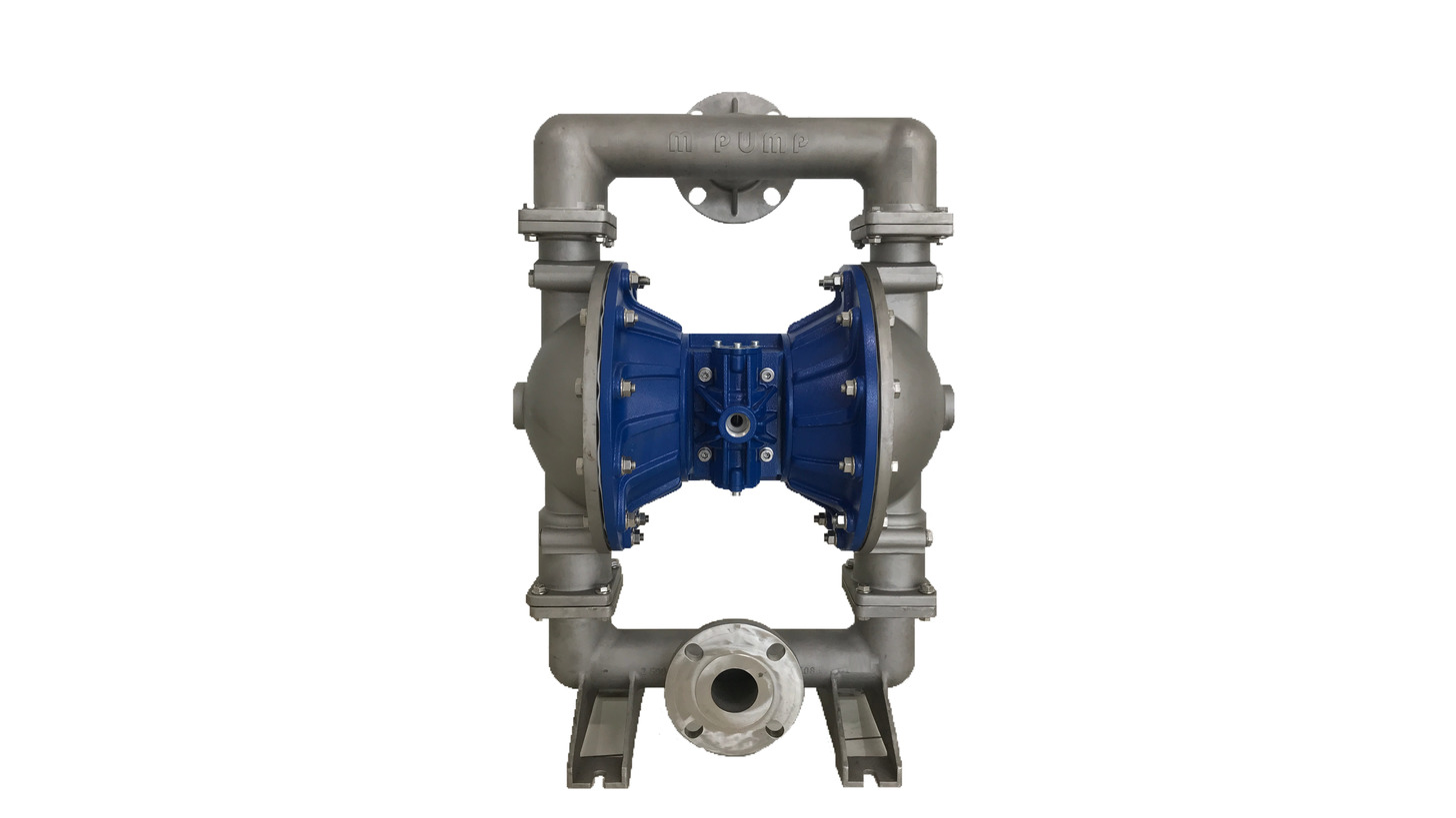 Logo Air Operated Diaphragm Double Pump