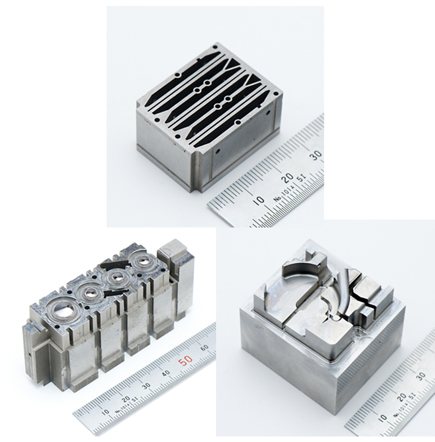 Logo printer head mold components
