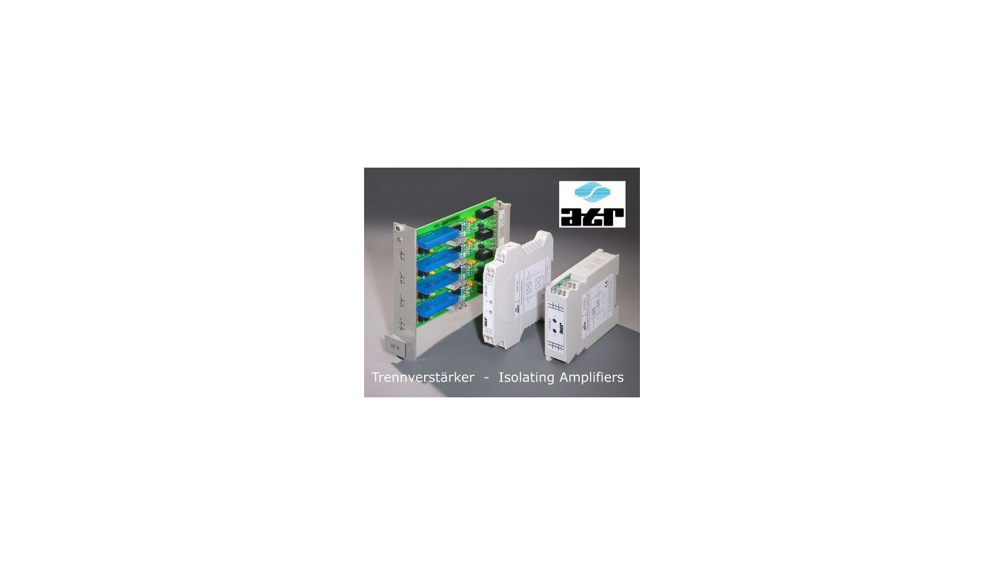 Logo Isolating Amplifier bipolar, adjustable, double output, ATR VM210