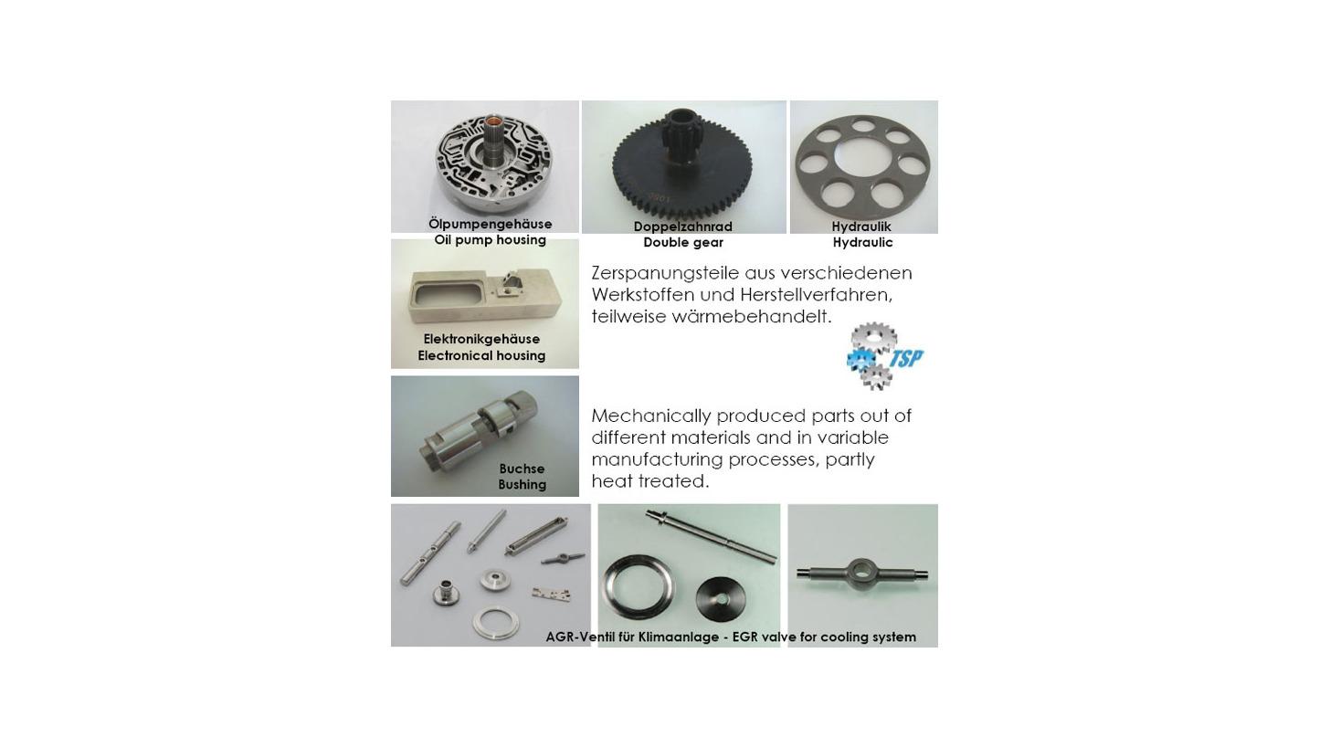 Logo Machining parts