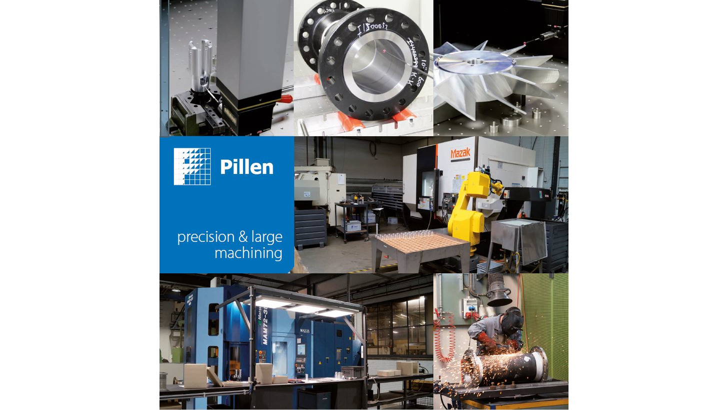 Logo Precision and large machining