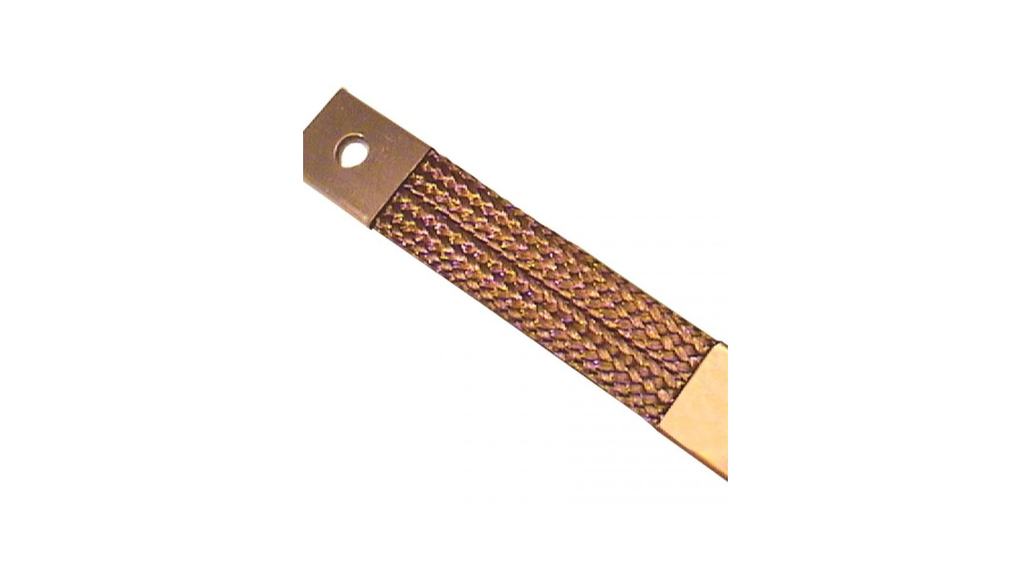 Logo Braided Copper Connectors