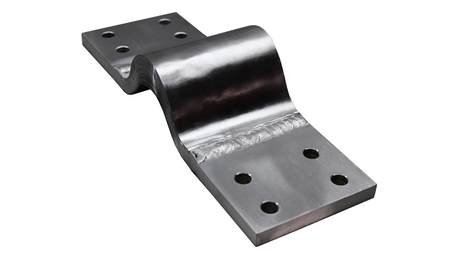 Logo MIG-Welded Aluminium Flexible Connectors
