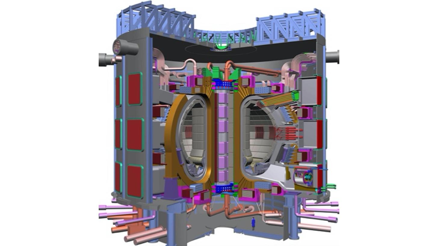 Logo ITER Fusion reactor design