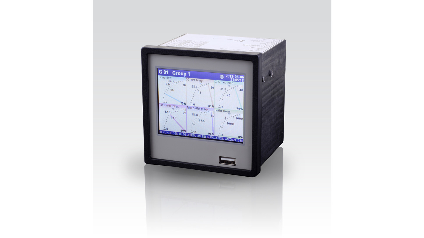 Logo CIT 700 - mulitchannel display  contacts / anlog outputs / datenlogger